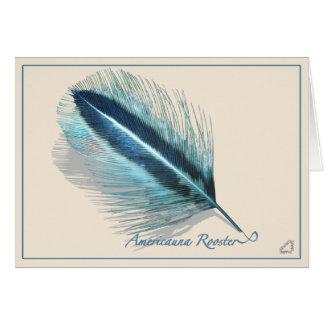 Galinha de Araucana - cartão