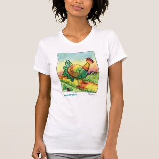 Galinha de primavera camiseta