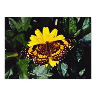 Galinha de selva, flores do gallus do Gallus Convites Personalizado