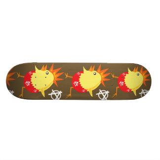 Galinha do punk rock shape de skate 20,6cm