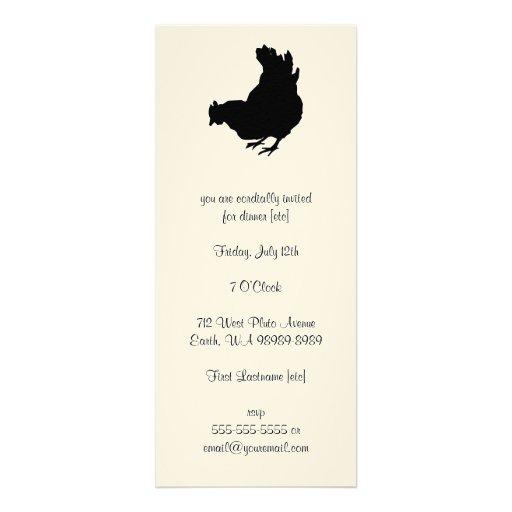 Galinha [galinha, fazendeiro, ovos orgânicos] convites