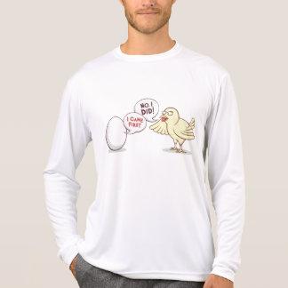 Galinha ou o ovo? camisetas