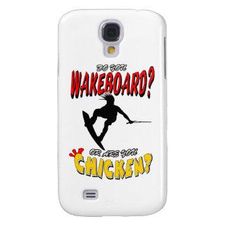 Galinha WAKEBOARD 1 (preto) Galaxy S4 Covers