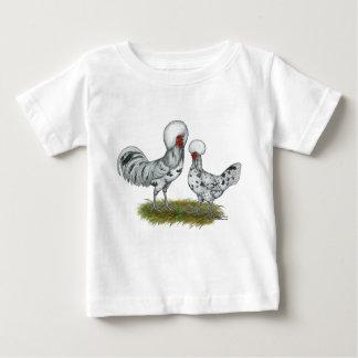 Galinhas polonesas do respingo t-shirts