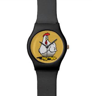 galinhas relógios de pulso