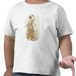 Galli Marie no papel de Carmen Camiseta