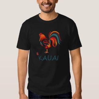 Galo selvagem de Kauai do t-shirt havaiano