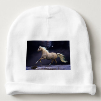 galope do cavalo gorro para bebê