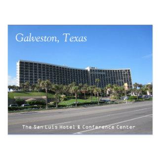 Galveston, cartão de Texas