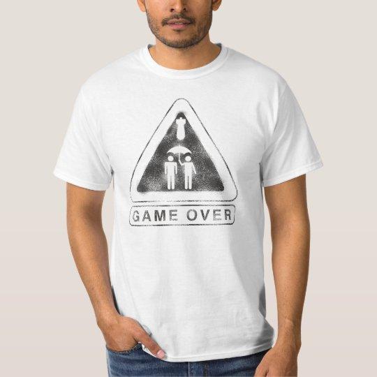 Game Over Camiseta