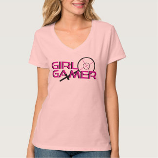 Gamer da menina - atirador furtivo tshirts