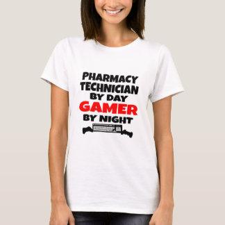 Gamer do técnico da farmácia camiseta