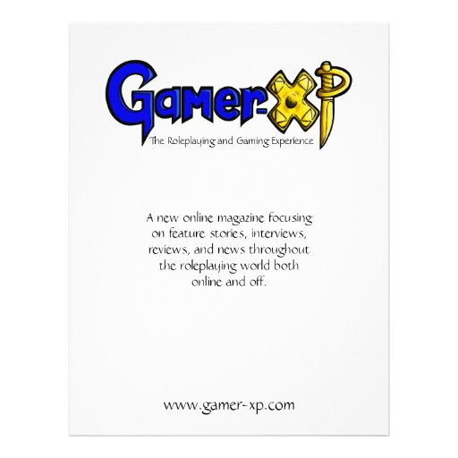 Gamer-XP Panfletos Personalizado