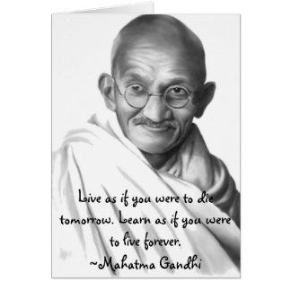 Gandhi Cartões