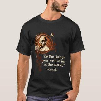 Gandhi Funky - seja a mudança Camiseta