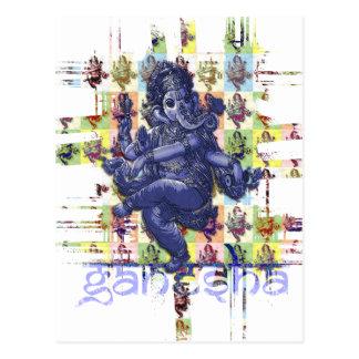 GANESHA | fazem seu próprio fundo Cartão Postal