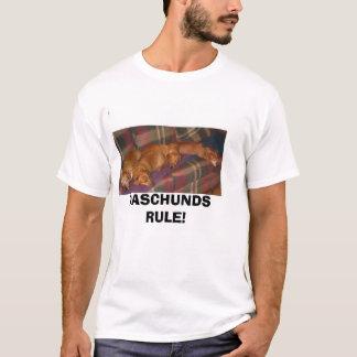 gang1a, REGRA de DASCHUNDS! Camiseta