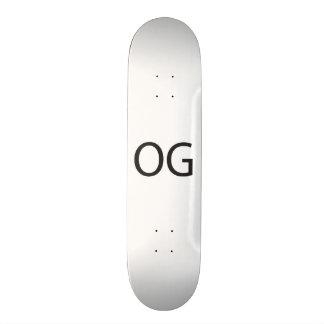Gangsta.ai original shape de skate 20cm