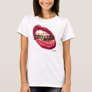 Gangsta bonito camiseta