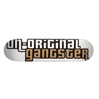 Gângster Un-Original Shape De Skate 19,7cm
