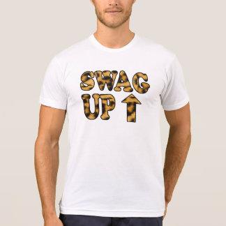 Ganhos acima do t-shirt camiseta