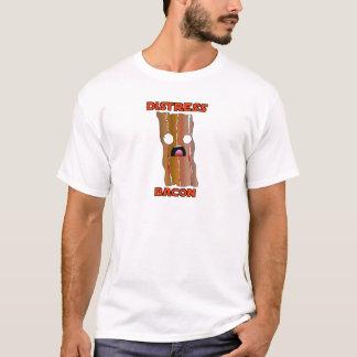 Ganhos do bacon da aflição camiseta