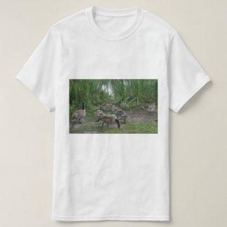 Gansos e t-shirt dos ganso camiseta