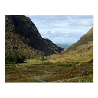 Gap de Dunloe, Killarney, Kerry, cartão de Ireland