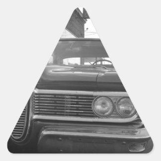 Garagem de Vinsetta Adesivo Em Forma De Triângulo