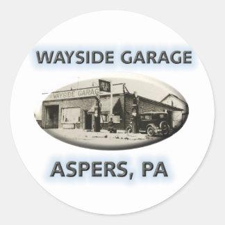 Garagem do Wayside Adesivo
