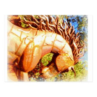 garanhão do mustang cartão postal