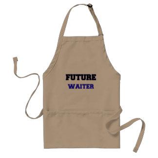 Garçom futuro aventais