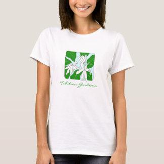 Gardenia de Tahitian Camiseta