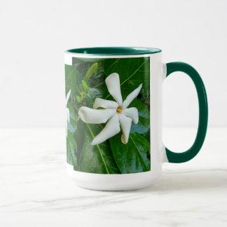 Gardenia de Tahitian Caneca