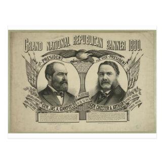 Garfield 1880 - Arthur Cartão Postal