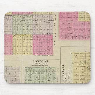 Garfield County, Creola, Ravanna, leal, Kansas Mouse Pad