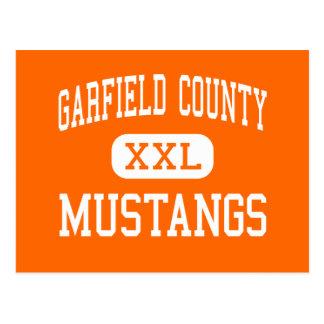 Garfield County - mustang - distrito - Jordão Cartao Postal