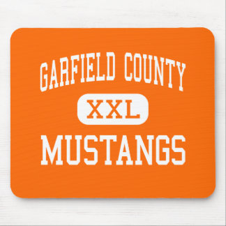 Garfield County - mustang - distrito - Jordão Mousepads