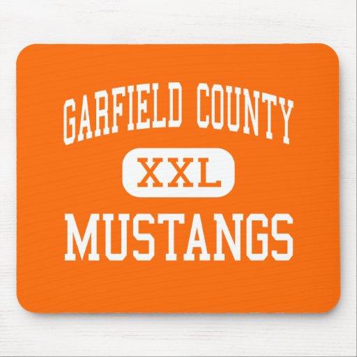 Garfield County - mustang - distrito - Jordão Mousepads