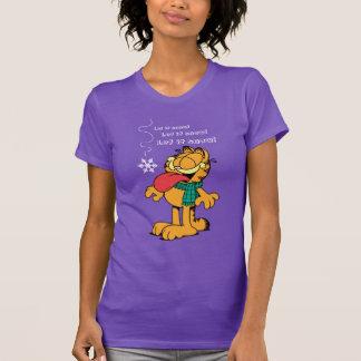 Garfield deixou-o nevar! tshirts