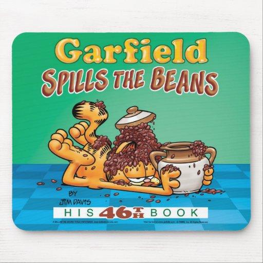 Garfield derrama os feijões Mousepad