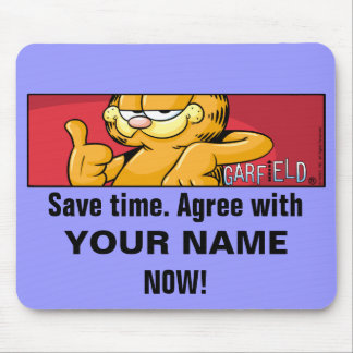 Garfield Logobox concorda Mousepad