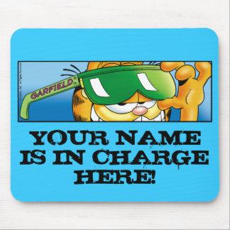 Garfield Logobox Mousepad responsável