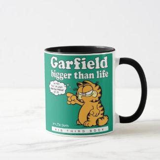 Garfield mais grande do que a caneca da vida