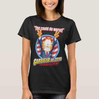 Garfield para o presidente em 2016 t-shirts