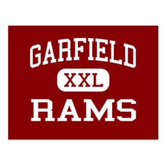 Garfield - ram - segundo grau - Akron Ohio Cartao Postal