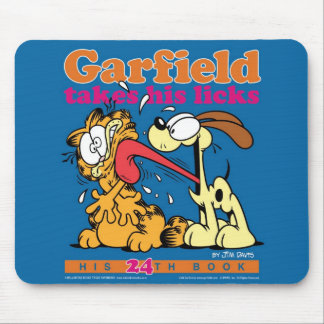 Garfield toma seu lambe Mousepad