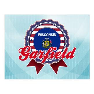 Garfield WI Cartão Postal