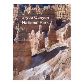 Garganta de Bryce Cartoes Postais