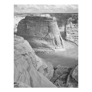 Garganta de Chelly Arizona por Ansel Adams Modelo De Panfleto